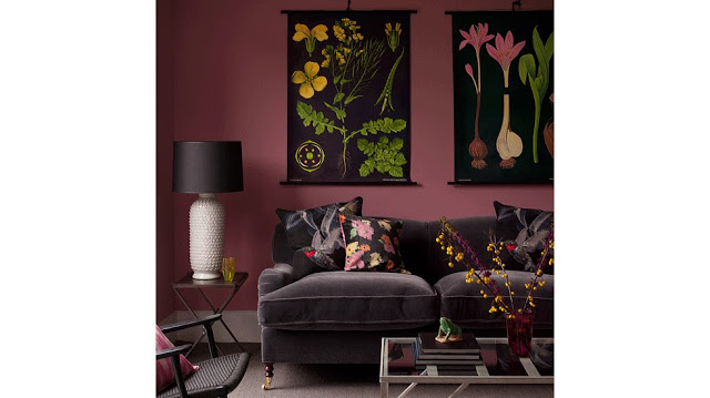 Orchid - Gray Sofa