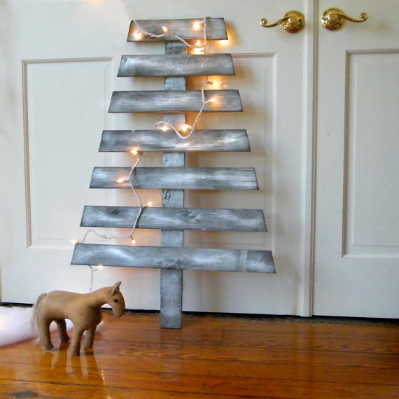 Etsy wooden christmas tree 49€