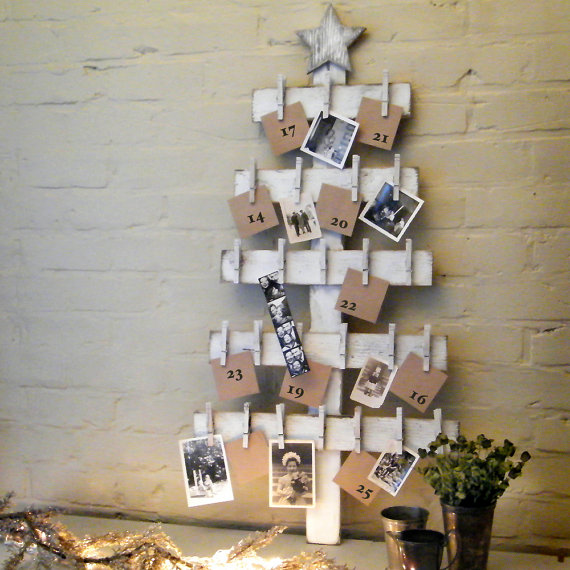 Advent calendar tree etsy 65 euro