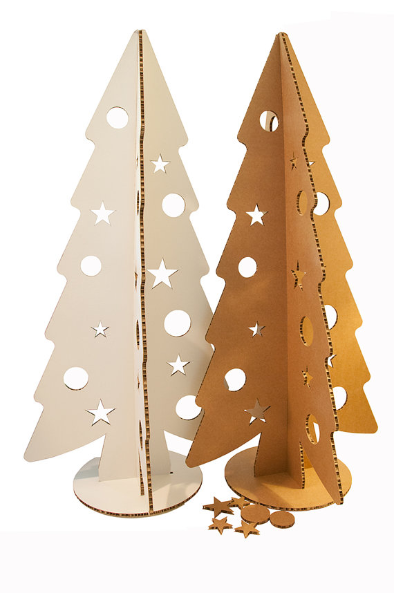 Cardoboard Christmas tree 240 cm