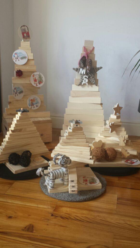 Una Navidad muy personal: árboles DIY de YyZ